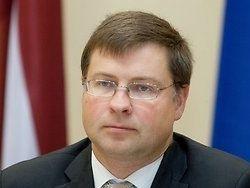 Домбровскис: в диалоге с Москвой надо быть прагматичными