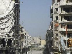 Сирия: бомбежка Дамаска