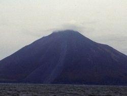 Вулкан Иван Грозный засыпал пеплом Курильск