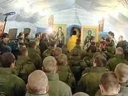 Надувной православный храм устрашил противника