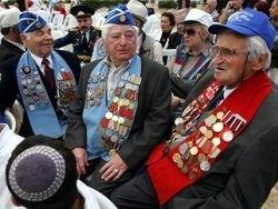 Ветераны войн из России в Израиле: здесь все наши