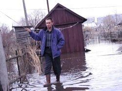 Паводки в России: большая вода наступает