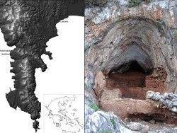 В греческой пещере найдены останки неандертальцев