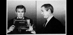 Джорджа Буша арестовала полиция? (фото)