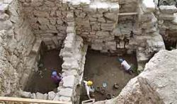 В Иерусалиме найдена стена библейского времени