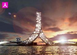 Проект необычной башни в Китае (фото)