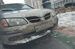 Реагенты на улицах и автотрассах радиоактивны