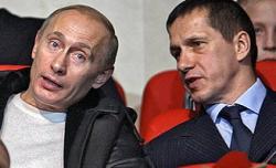 """Владимир Путин посидел в \""""Лужниках\"""" над схватками"""