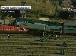 В железнодорожной катастрофе в Чикаго пострадали 70 человек