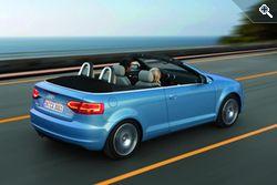 Новый кабриолет Audi A3 с двумя бензиновыми и двумя дизельными моторами