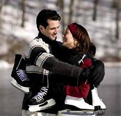Катание на коньках для начинающих