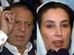 Наваз Шариф и Беназир Бхутто обсудят бойкот выборов