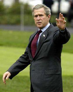 В знак протеста против Джорджа Буша американский дедушка пройдет 725 километров