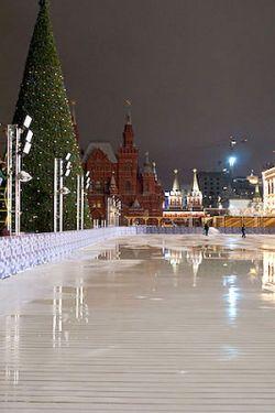 В Москве открылся сезон зимнего отдыха