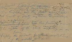 Страница из романа Наполеона Бонапарта выставлена на торги