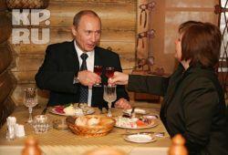Что вкушает в Рождественский пост православный Путин? (меню)