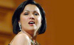 Российская оперная певица Анна Нетребко присутствовала на приеме у Джорджа и Лоры Буш
