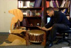 Самодельный робот-барабанщик (фото)
