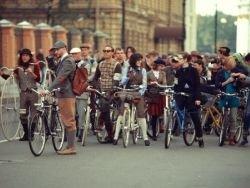 В столице пройдёт ретро-вело-флешмоб Tweed Ride Moscow