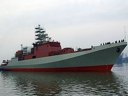 Новость на Newsland: Первый фрегат нового проекта войдет в ЧФ в 2014 году