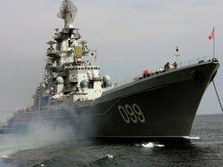 """Новость на Newsland: Крейсер """"Петр Великий"""" отметил 15-летие подъема флага"""