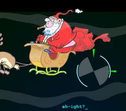 Новогодняя флэшка: Охота на Деда Мороза
