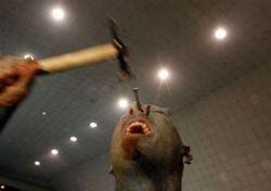 Экстремальный фокусник Пол Лоуренс ужаснул жителей Перу (фото)