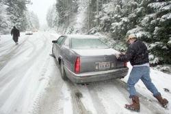 Смертоносный снегопад в США. Есть жертвы! (фото)