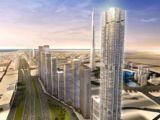 В ОАЭ строят новый небоскреб Al Sharq Tower, который станет самым узким в мире
