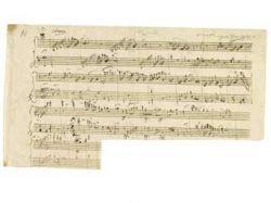 Автограф Вольфганга Амадея Моцарта поставил рекорд на аукционе