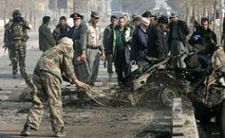 Афганские боевики устроили теракт во время визита в Кабул главы Пентагона