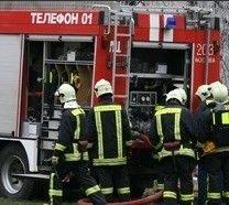 Пожар в гаражном комплексе в Москве: сгорело 8 машин