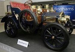 Старейший Rolls-Royce 1904 года выпуска продан на аукционе Bonhams в Лондоне (фото)