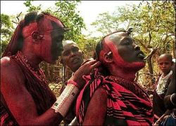 Как юноши племени масаи становятся мужчинами? (фото)