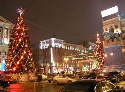 Иностранцев не привлекает новогодняя Москва