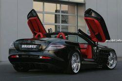 Потрясающий модифицированный Brabus Mercedes McLaren SLR Roadster (фото)
