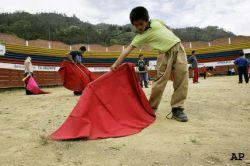 Репортаж из колумбийской школы тореадоров Jeronimo Primentel school (фото)