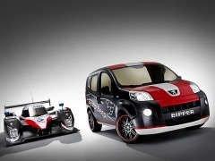 Peugeot нарядил свой развозной фургон в гоночный наряд Bipper