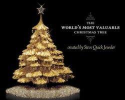 Новогоднюю елкуот Steve Quick Jeweler оценили в $500 000