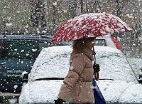 В Болгарии снегопад парализовал движение