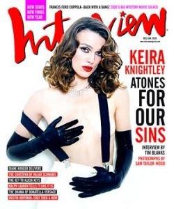 Кира Найтли снова появилась обнаженной в журнале Interview