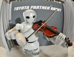 Toyota научила робота играть на скрипке (видео)