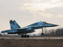 Новость на Newsland: Первый Су-34 передан ВВС России по гособоронзаказу-2013