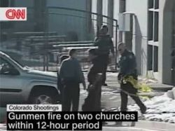Напавший на прихожан церкви в Колорадо-Спрингс преступник убит