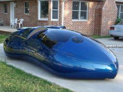 Fastlane - корпус для футуристичного автомобиля будущего ( фото)