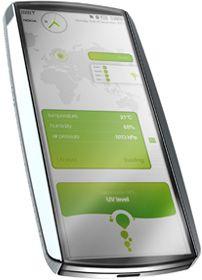 Nokia Eco Sensor: концепт экологического телефона