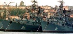 Украина заблокировала Черноморский флот России в Севастополе