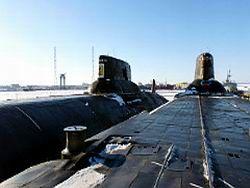"""Две подводные лодки класса """"Акула"""" пустят под нож"""
