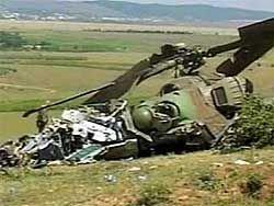 Новость на Newsland: Военные нашли черные ящики вертолета Ми-8Т под Саратовым