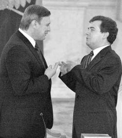 Михаил Касьянов вызвал Дмитрия Медведева на теледебаты